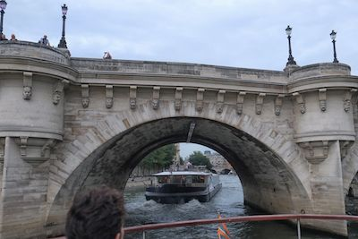 Henry IV built bridge Pont Neuf, now the city's oldest.