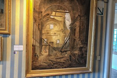 The chapel at the Sorbonne was destroyed in the French Revolution