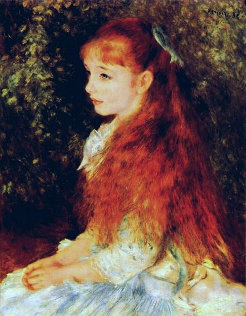 Irene Cahen d'Anvers by Pierre-Auguste Renoir