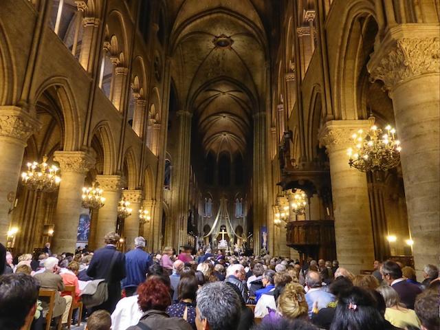 Notre Dame Chorale Tour