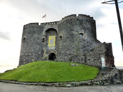 Norman castle at Carrickfergus