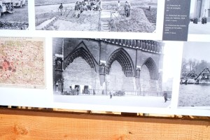 Pictures of some of the defenses - note that the entry doors to Notre Dame are all bricked up.