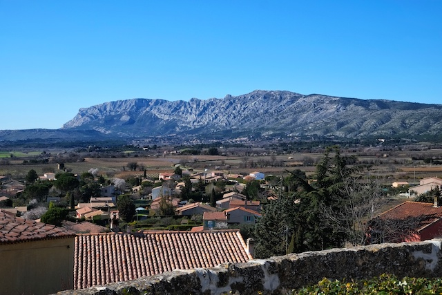 Mount Sainte Victoire from Pourrieres
