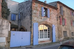 Exterior view of our house in Saint Cannat