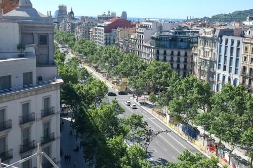 Passeig de Gràcia in the Eixample