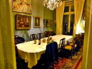 Room where Nobel signed his will