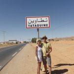 At the outskirts of Tataouine, Tunesia, heading towards the Sahara - the end of the world.