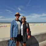At Berck Plage in Nord Pas de Calais, France
