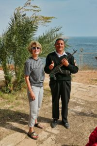 Security guard Abu Simbel