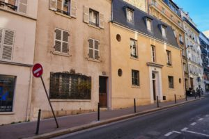 houses on the hill rue Lhomond