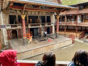 State of the rebuilt Globe Theater
