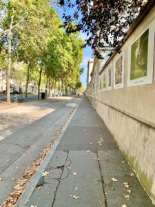 Straightaway on Blvd des Invalides