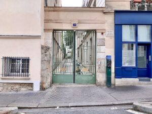 Joyce finished Ulysses at 71 rue du Cardinal Lemoine